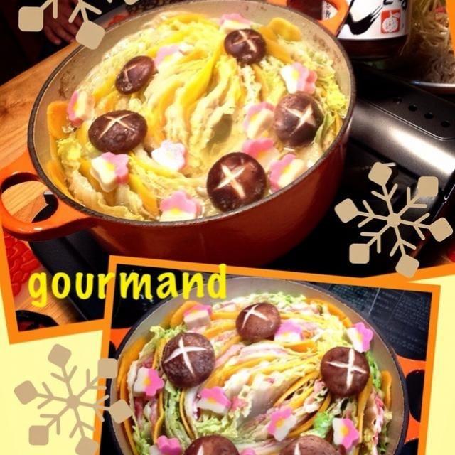 雪が降って寒かったから… 今日はお鍋٩꒰๑❛▿❛ ॢ̩꒱ シンプルにミルフィーユ鍋で♪ 京都 大原にある「志野」さんのポン酢やドレッシングが美味しいの♡ 新製品⁉︎  柚とミカン をいただいたので食べたら、めちゃ美味しかった〜( ›◡ु‹ ) - 160件のもぐもぐ - 豚肉と白菜・人参のミルフィーユ鍋  お気に入りポン酢で♪ by gourmand