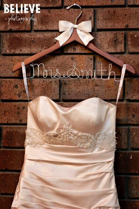 55 best Personalised Bridal Party Coat Hangers images on Pinterest ...
