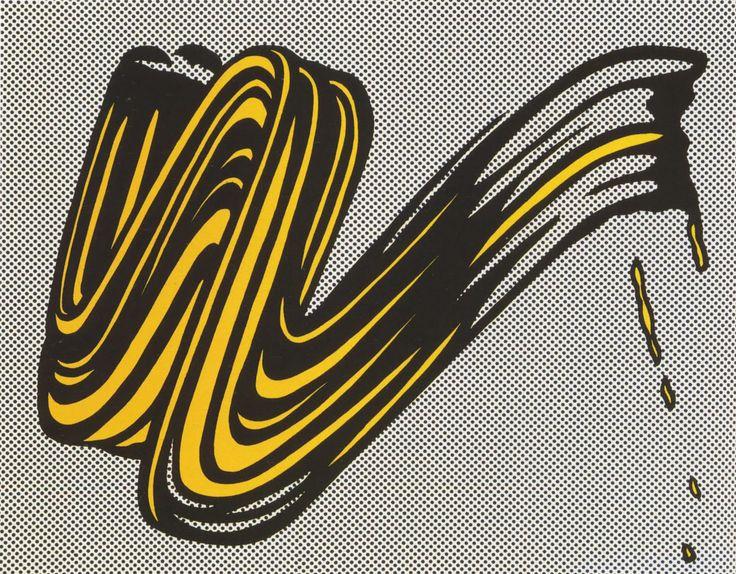 Brush, Roy Lichtenstein, 1965