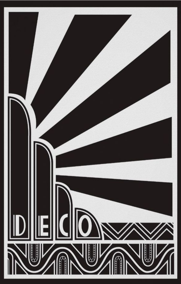 Art Deco Line Design : The best art deco ideas on pinterest door