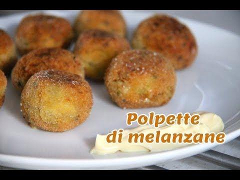Polpette di melanzane vegetariane - Le Ricette dell'Amore Vero