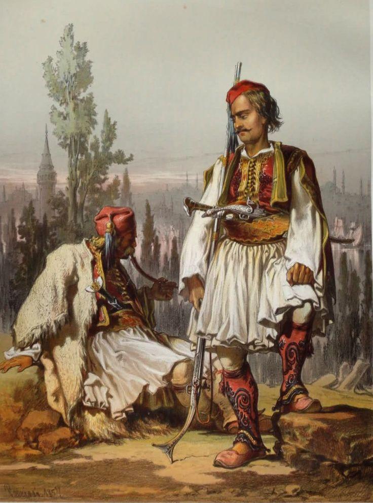 Amadeo Preziosi -  Albanians Mercenaries in the Ottoman Army