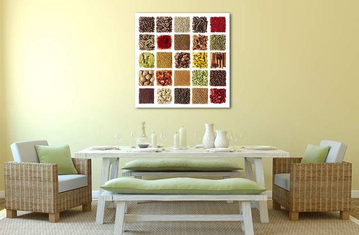 Les épices du monde colorent votre cuisine.