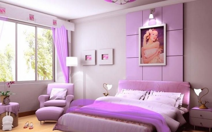 Single Women Bedroom Interior Ideas