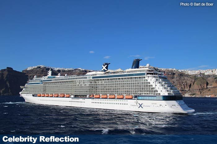 Celebrity Reflection - Floating out - August 12th 2012 ...
