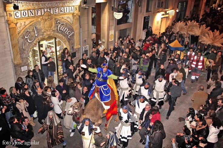 Cabalgata Reyes Magos de Alcoy, foto de Jose Aguilar López