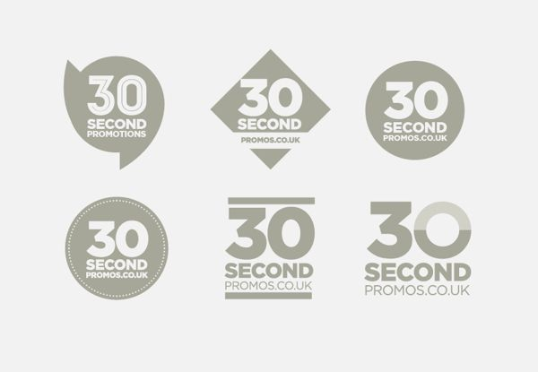 30 secondpromos.co.uk // Branding on Behance