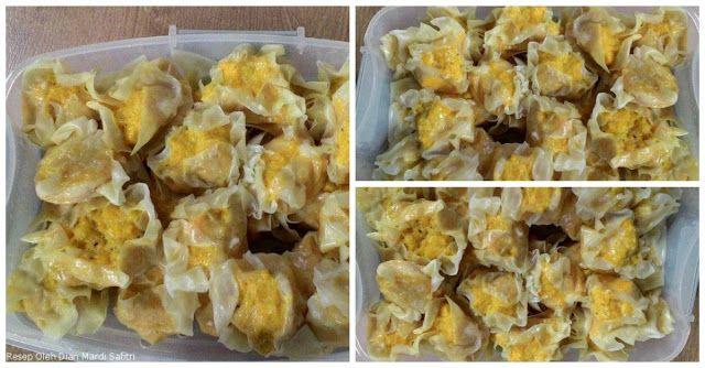 Bikin Siomay Udang Ayam Wortel yuk! Berikut Resep dan Cara Membuatnya