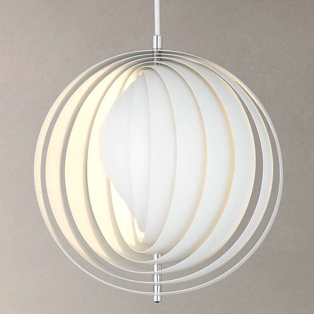 BuyVerpan Moon Pendant, White, Small Online at johnlewis.com