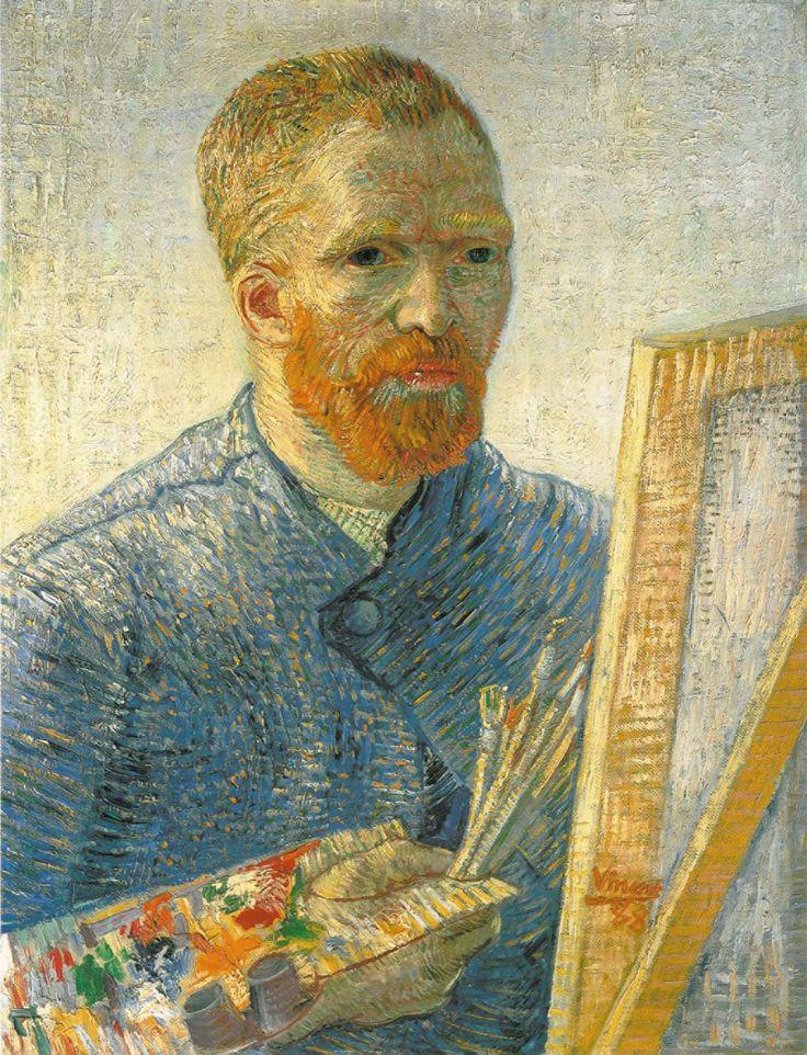 Autoritratto al cavalletto - V. Van Gogh