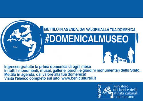 Domenicalmuseo - list of state-run Italian museums and archaelogical sites that are free the first Sunday of each monh.