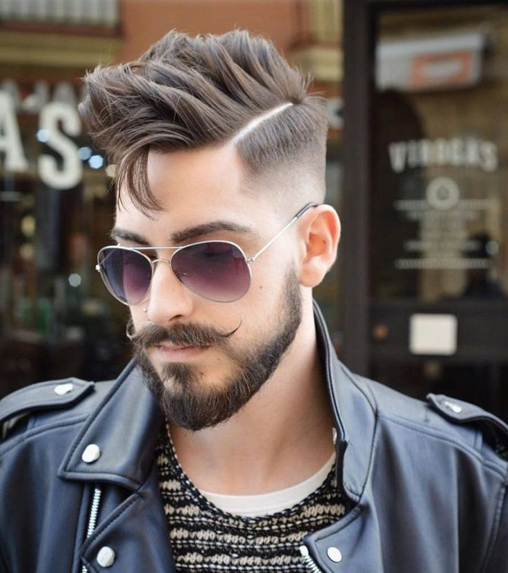 Frisuren männer brille