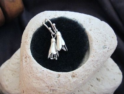 Sterling Silver Kowhai Earrings