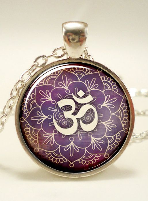 #OM #Necklace
