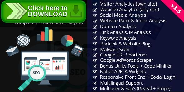 [ThemeForest]Free nulled download SiteSpy - Complete Visitor & SEO Analytics from http://zippyfile.download/f.php?id=53725 Tags: ecommerce, keyword analysis, keyword analyzer, rank analysis, saas, seo analysis, seo analyzer, seo tools, url shortener, visitor analysis, visitor analytics, visitor tracking, website analysis, website analytics, website analyzer