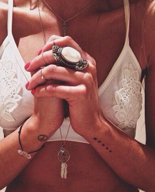 Rings  tattoos.