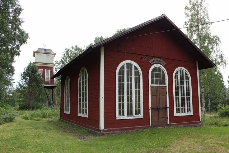 Norberg gruvmuseum, maskinhuset, in Norberg - the birthplace of Anders Mattson (KLZT-W8G) born about 1672, and married there Oct 1697 to Anna Mattson (KFY7-H81) who was also born there about 1676. Edwin Hyrum Anderson line