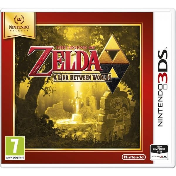 The Legend Of Zelda A Link Between Worlds 3DS Game (selects) | http://gamesactions.com shares #new #latest #videogames #games for #pc #psp #ps3 #wii #xbox #nintendo #3ds