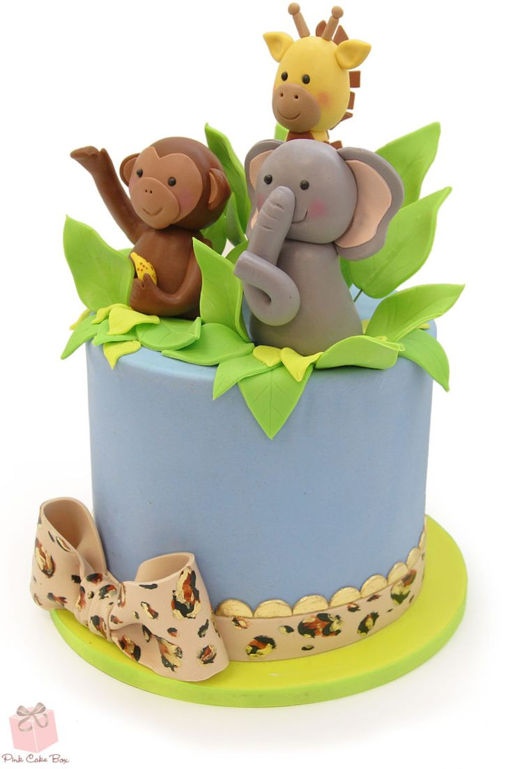 Best 25+ Jungle cake ideas on Pinterest | Zoo cake, Jungle ...
