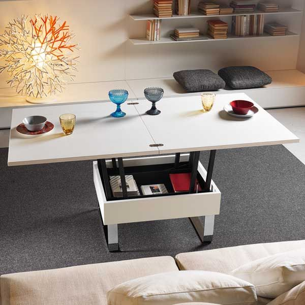 Coffee Table. Dinner Table. Soooo Great For A Small House When Having A  Dinner