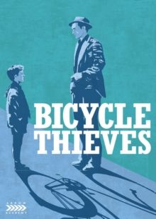 LADRI DI BICICLETTE/BICYCLE THIEVES (U) 1948 ITALY SICA, VITTORIO DE £15.99 Oscar winning story of a poor man whose bicycle is stolen and he and his son search Rome for it. Part of neorealist cinem…