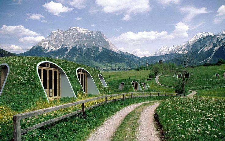 Esta empresa hace casas de Hobbit para la gente normal y son simplemente perfectas