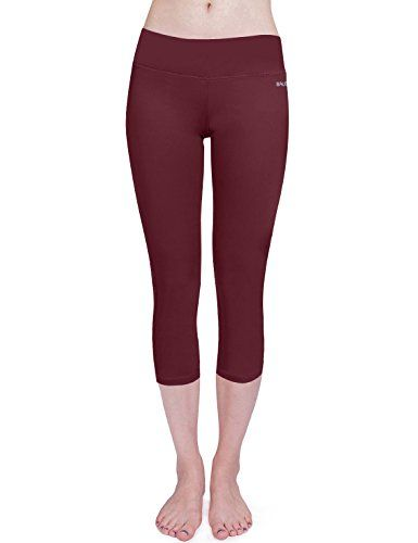 Special Offer: $14.99 amazon.com Designed with feminine lines, Baleaf Women's Capri Legging Black with Inner Pocket and shows a flattering look as you work out. Or you can have it for daily casual wear.Non see-through, moisture-wicking, breathable and stretchy fabric provides complete...