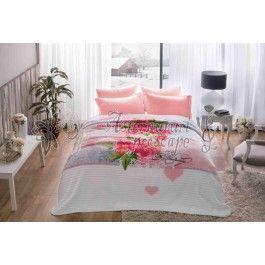 Tac Florence roz - patura 220x240 cm
