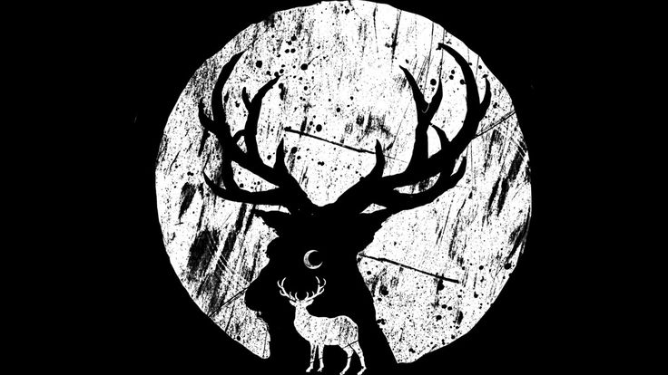 Deer at night is a T Shirt designed by barmalizer to illustrate your life and is…