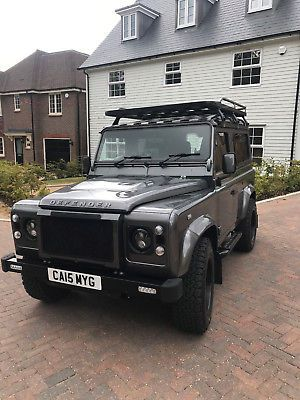 land rover defender 90 xs many enhancements and twisted parts   uk