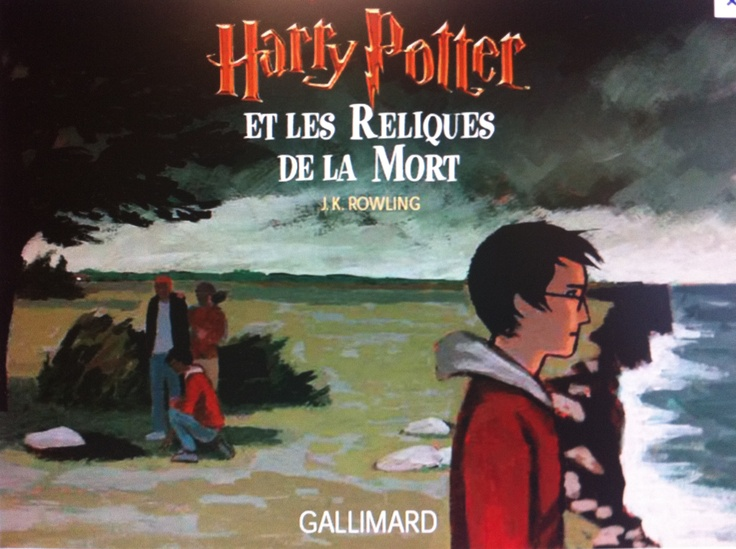 Harry Potter et les Reliques de la Mort art work - Drawn by Jean-Claude Götting