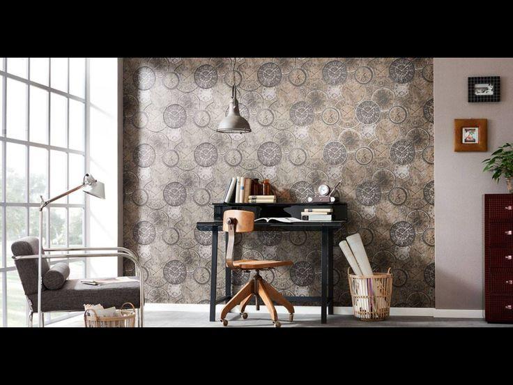 Красивые стильные обои фирмы Erismann Tapeten из Германии...👍👍👍  Beautiful stylish wallpaper from Erismann Tapeten of Germany...👍👍👍