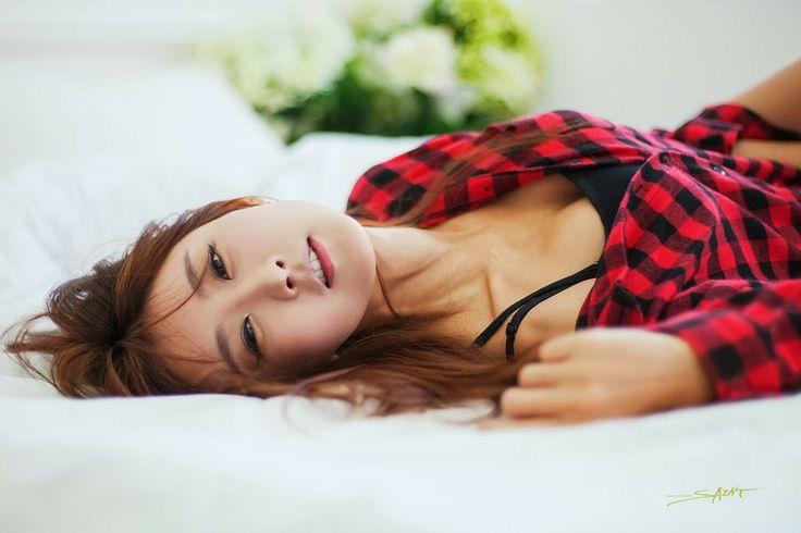 Park Hyun Sun Sexy Model Alluring Beauty