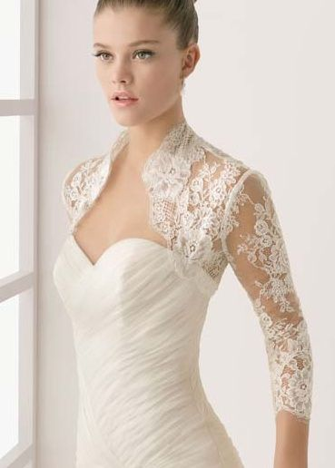 Wedding shrugsare sofeminine and romantic...I'm thinking about wearing oneat our reception to add aunique, vintage look.     Would you ...