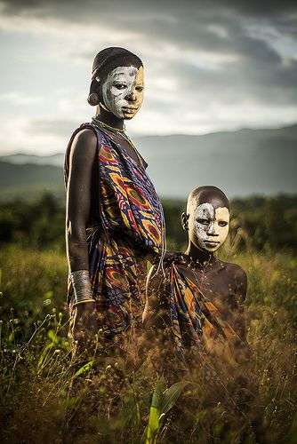 Suri Tribe . Ethiopia