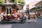 horse & carriage ride around the French Quarter, New Orleans