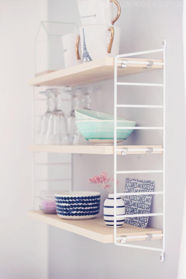 die 25+ besten ideen zu offene küchenregale auf pinterest ... - Drahtregal Küche