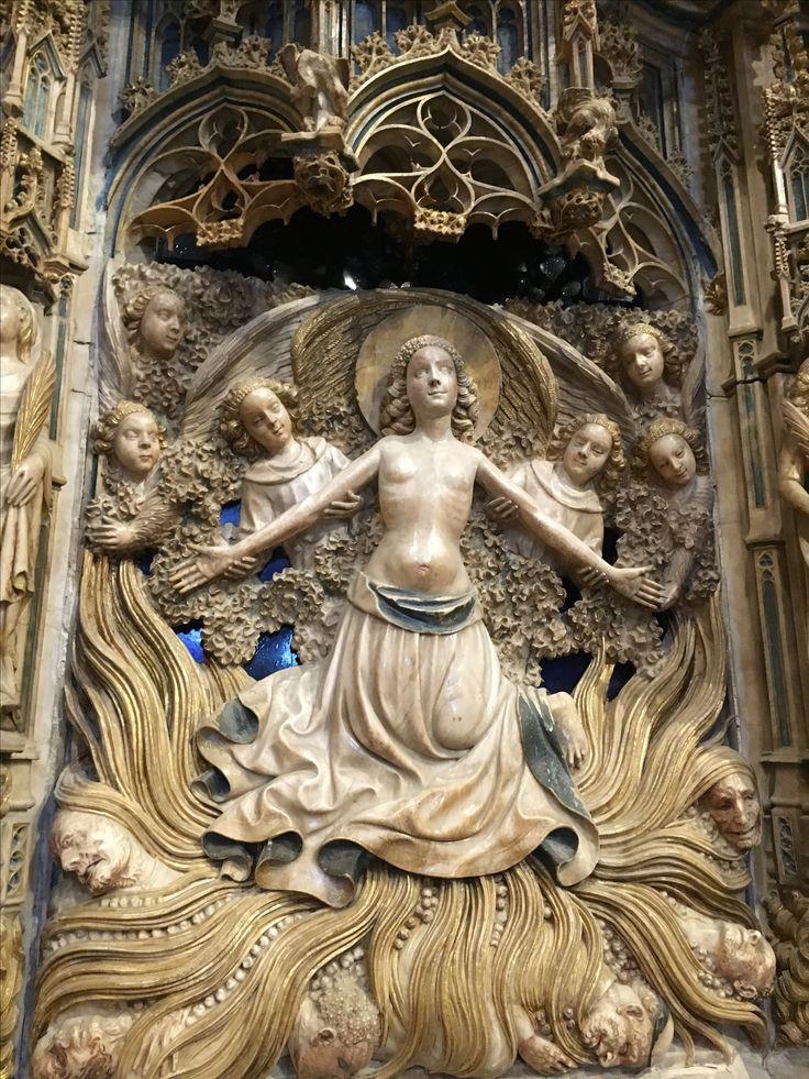Martirio de santa Tecla, catedral