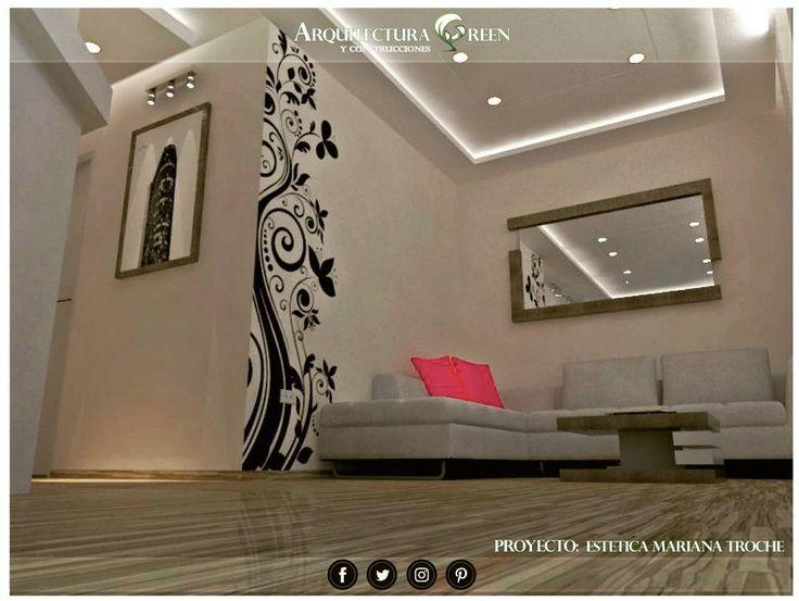 Proyecto 3d Sala de espera estética @esteticamarianatroche Ubicado en el C.C. Los Jarales San Diego. Estado Carabobo. Haciendo realidad las ideas de nuestros clientes. Deja que nosotros nos encargamos de tu proyecto.  Proyecto: Arquitectura Y Construcciones Green C.A.  Año: 2017  #arquitecturagreen  #arquitectura  #arquigreen #autocad #sketckup  #vrayrender #vray  #3d #diseño #valencia #sandiego  #venezuela #design #cad #planos #lineas #minimalismo #arte