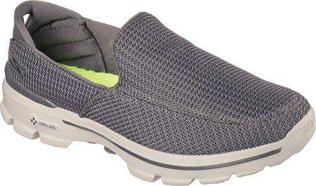 Skechers Mens Go Walk 3 Slip-on 53980-CHAR,    #Skechers,    #53980CHAR,    #AthleticShoes