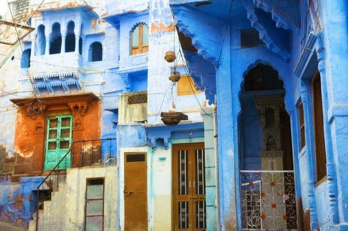 ◆インド Jodhpur ブルーシティ ジョードプル