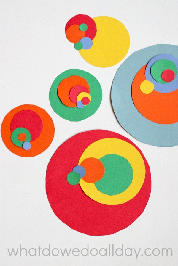 Fibonacci art project that combines math learning and creativity for kids.