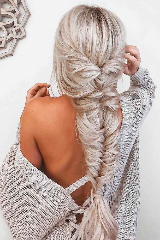 42 Super Cute Christmas Hairstyles For Long Hair Long Hair Styles Braids For Long Hair Hair Styles
