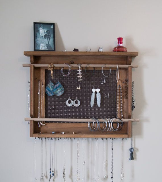 61 best Handmade Jewelry organizers images on Pinterest Jewellery