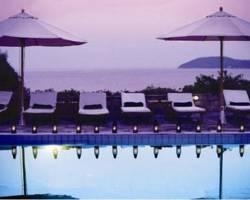 Aegean Suites, Skiathos: elegant adult-only enclave, 20 suite, on-site spa and pool just across sandy beach of Megali Ammos.