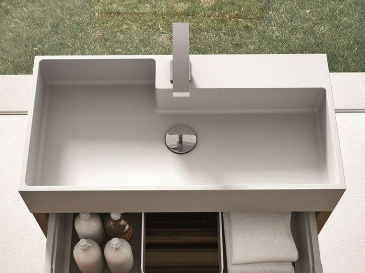 Las 25 mejores ideas sobre fregadero de concreto en for Lavabo profundo