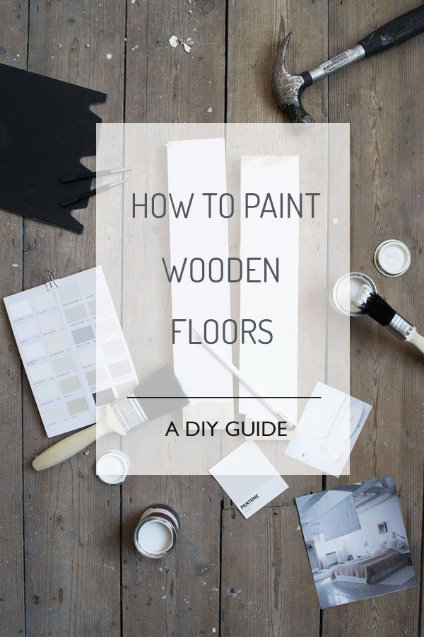How To Paint Wooden Floors | A DIY Guide