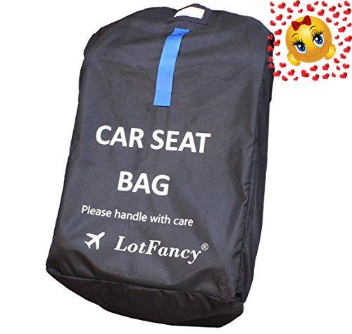 LotFancy Car Seat Travel Bag Allows You To Protect Your Childs When Travelling