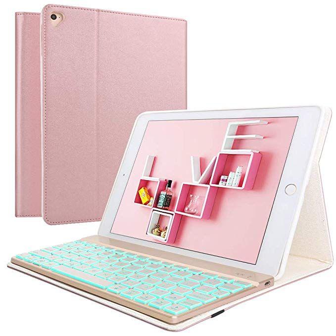 Amazon Com Keyboard Case Ipad 9 7 2018 6th Gen Ipad 9 7 2017 5th Gen Ipad Air 2 1 Ipad Pro 9 7 7 Colors Ipad Keyboard Case Keyboard Case Ipad Keyboard
