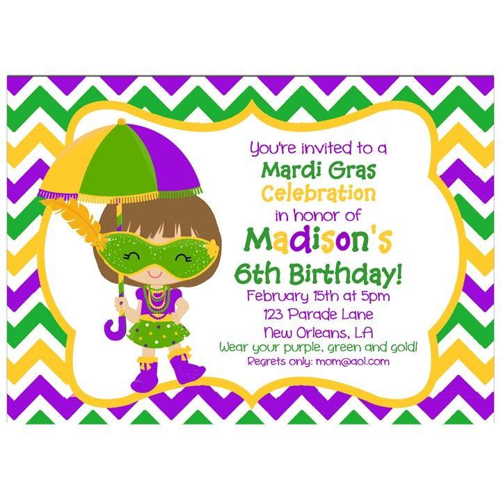 102 best Mardi Gras Party Ideas images on Pinterest | Invitations ...